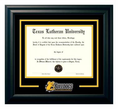 Texas Lutheran University Custom Diploma Frames University Frames